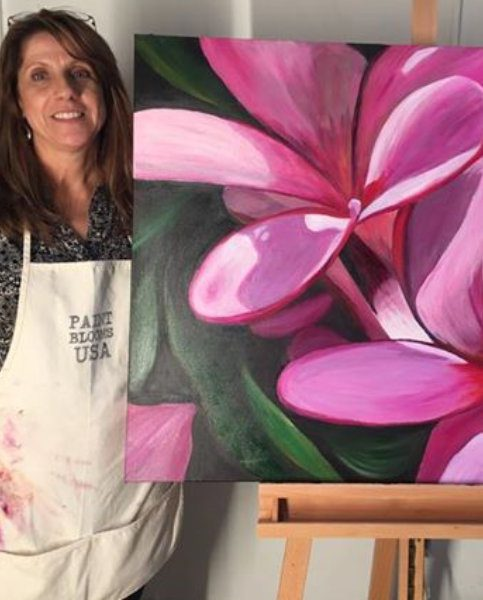 2 Day Blooms Painting Workshops