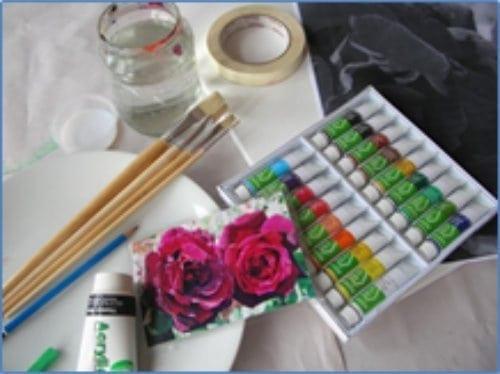 Painting Shop Art- Supplies