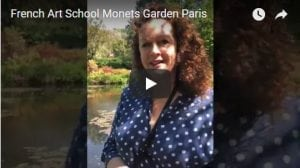 French Art School Monets Gardens