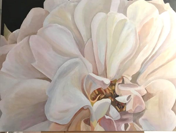 Perfectionism and painting when creating art