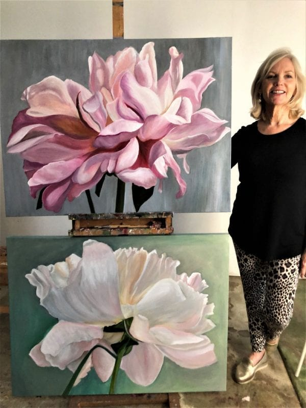 4 Day Blooms Painting Workshop & 1 evening