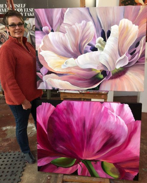 4 Day Blooms Painting Workshops