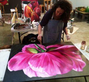 Blooms Painting Workshops Jacqueline Coates
