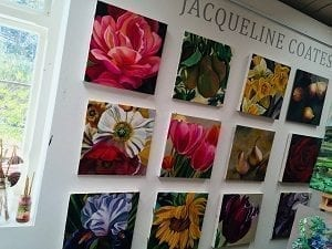 How To Paint Blooms Wall of Paintings
