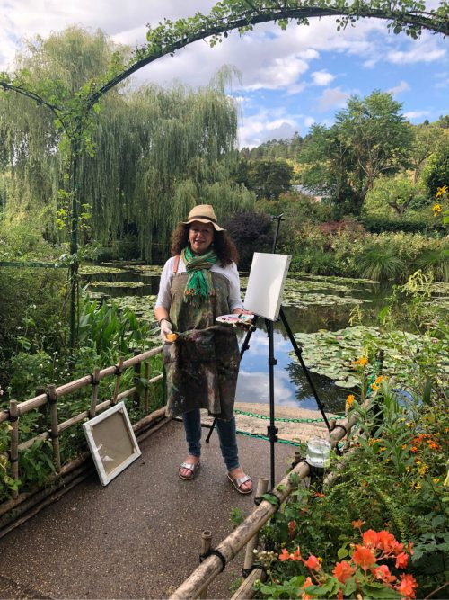 Jac Coates French Art School Monet Gardens